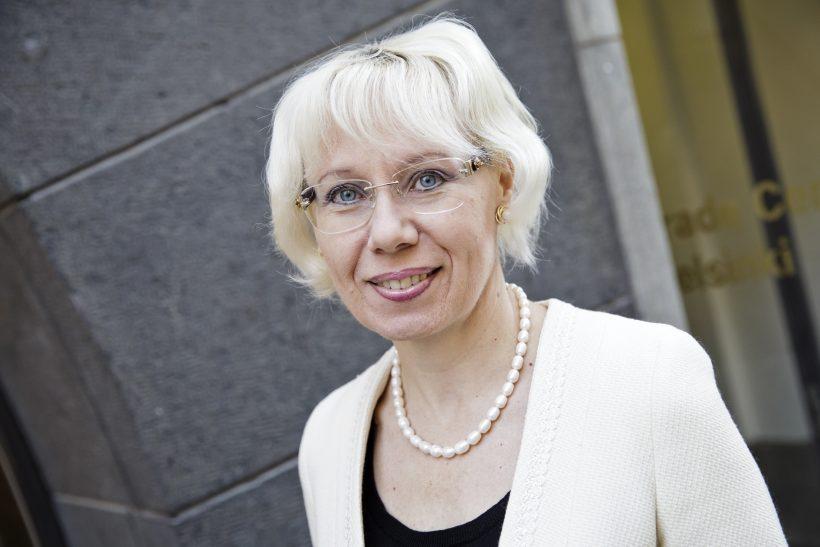 Keskuskauppakamarin tilaisuus: 'Mistä saamme lisää naisjohtajia', varatoimitusjohtaja Leena Linnainmaa