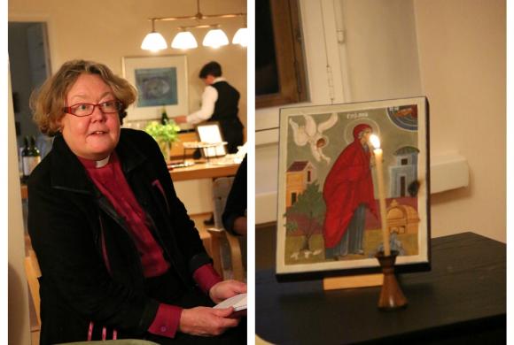 Helsingin piispa Irja Askola avasi womanilaisille kotinsa ovet