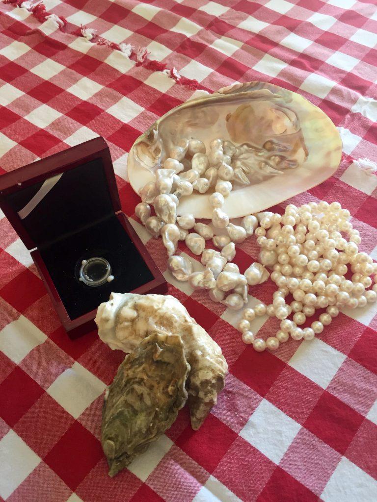 Ostereita ja helmiä